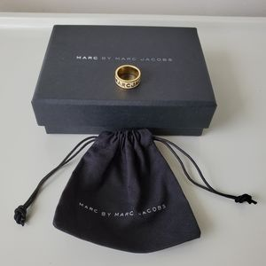 Marc By Marc Jacobs gold ring size 5